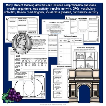 Ancient Civillizations: Ancient Rome - A complete Non-fiction Resource