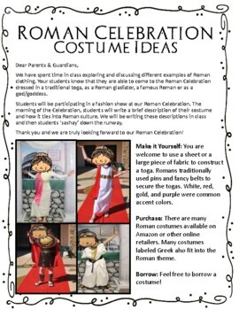 Ancient Rome Toga Party - Roman Games and Activities