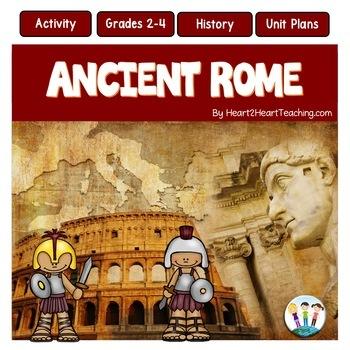 Ancient Civilizations: Ancient Rome Activities and Complete Unit