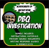 DBQ Ancient Rome Achievements Common Core DBQ Activity