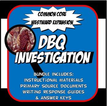 DBQ Westward Expansion Native American Relocation Common Core DBQ Activity