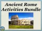Ancient Rome Activities Bundle