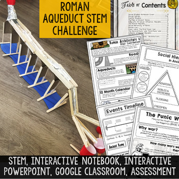 Ancient Rome Activities Resource Bundle