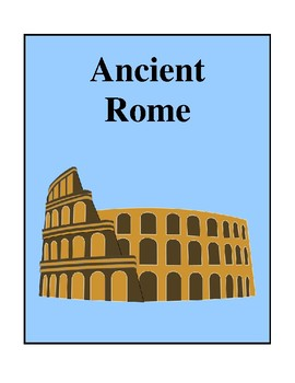 Ancient Rome, Activities and Worksheets
