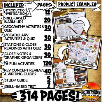 Ancient Rome Unit Plan Lesson Activity Bundle History Common Core Grades 5-8
