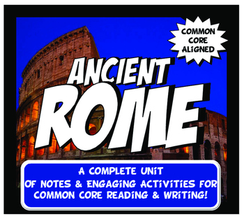 Ancient Rome Activity and N... by Instructomania with Mr and Mrs P ...