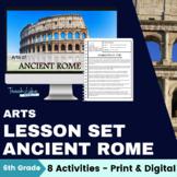 Ancient Rome Arts Lesson