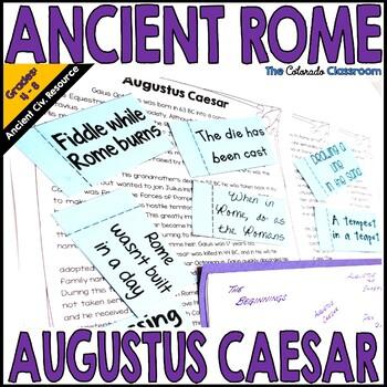 Ancient Rome: Augustus Caesar
