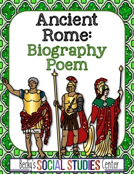 Ancient Rome: Biography Poem of a Ruler