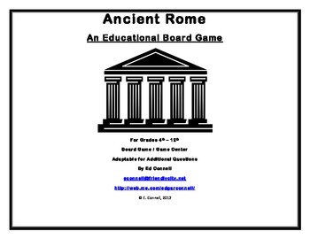 Ancient Rome Board Game