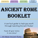 Ancient Rome Booklet