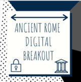Distance Learning: Ancient Rome Digital Breakout / Escape Room