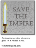 Ancient Rome Breakout / Escape - Style Classroom Game
