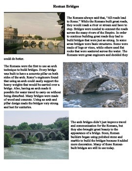 Ancient Rome - Bridges, Roads, and Aqueducts Stations