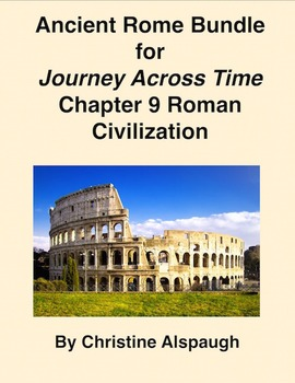 Ancient Rome Bundle for Journey Across Time Chapter 9