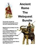 Ancient Rome -Bundled for Savings-5 WebQuest Collection
