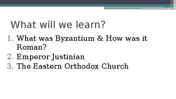 Ancient Rome Byzantium PowerPoint Lecture