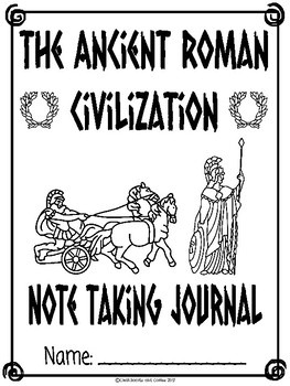 Ancient Rome CKLA Note Taking Journal