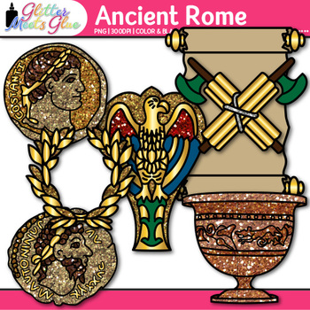 Ancient Rome Clip Art {Civilization and Culture on the Tiber River}