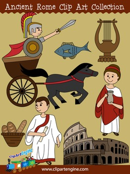 ancient rome clip art by clip art engine teachers pay teachers rh teacherspayteachers com ancient roman soldier clipart ancient roman clipart