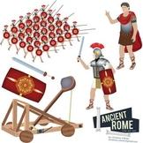 Ancient Rome Clip Art Set