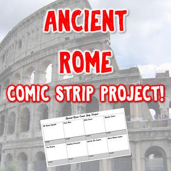 Ancient Rome Comic Strip Project