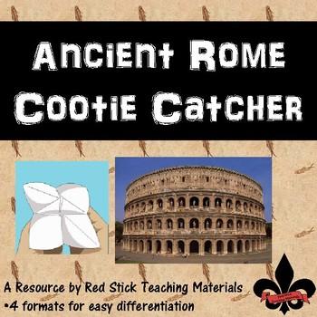 Ancient Rome Cootie Catcher