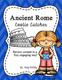 Ancient Rome Cootie Catcher (Fortune Teller)