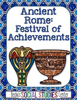 Ancient Rome: Create a Festival Brochure