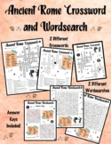 Ancient Rome Crossword and Wordsearch!
