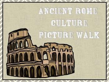 Ancient Rome Culture Picture Walk