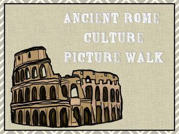Ancient Rome Culture Picture Walk