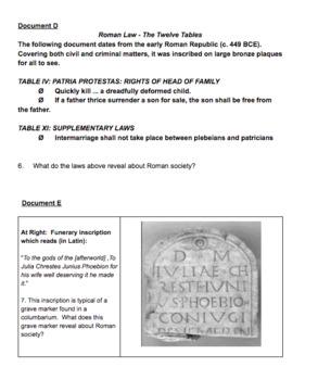 Ancient Rome DBQ