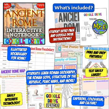 Ancient Rome DIGITAL Notebook! Digital Notebook for Roman Republic & Empire!