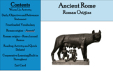 Ancient Rome Day 3 - Roman Origins