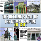 Ancient Rome: Decline & Fall of the Roman Empire 3D PowerPoint