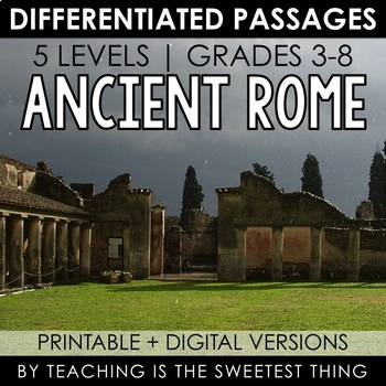 Ancient rome study guide teaching resources teachers pay teachers ancient rome passages ancient rome passages fandeluxe Images