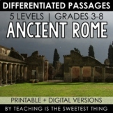 Ancient Rome: Passages - Distance Learning Compatible
