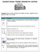 Ancient Rome Digital Breakout and Hyperdoc Two Pack
