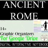 Ancient Rome Digital Interactive Notebook Graphic Organize