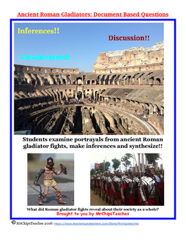 Rome - Document Based Questions (DBQs)