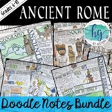 Ancient Rome Doodle Notes Bundle