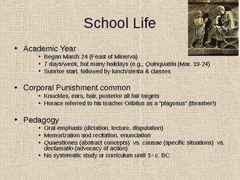 Ancient Rome Education
