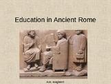 Ancient Rome Education