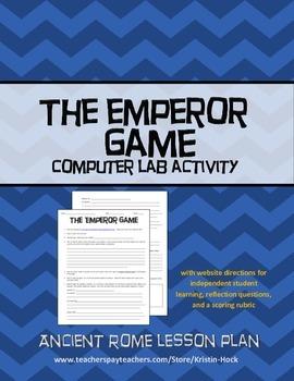 Ancient Rome -- Emperor's Game computer activity