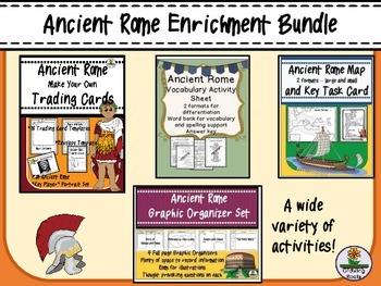 Ancient Rome Enrichment BUNDLE