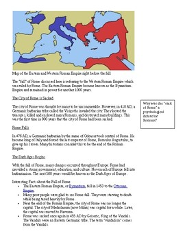 Ancient Rome-Fall of Rome
