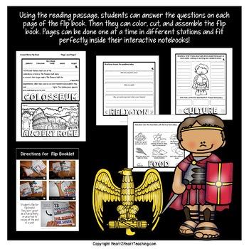 Ancient Civilizations: A Mini-Unit about Ancient Rome & Flip Book
