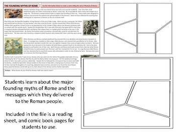 Ancient Rome - Founding Myths - Romulus and Remus