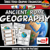Ancient Rome Geography YouTube Video Graphic Organizer Not